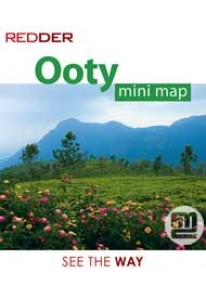 Ooty Mini Tourist Map