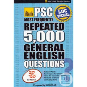 PSC Most Frequently Repeated 5000 General English Questions